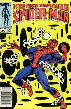 Peter Parker, The Spectacular Spider-Man # 99 by Al Milgrom