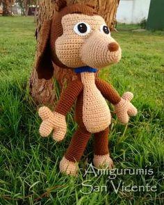 A mi perro chocolo le gusta bailar #amigurumi #amigurumis #crochet #crocheting…