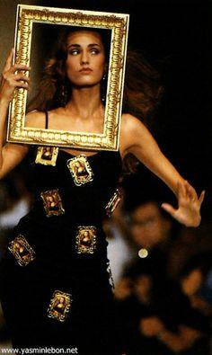 yasmin lebon 1989 | Yasmin Le Bon - runway