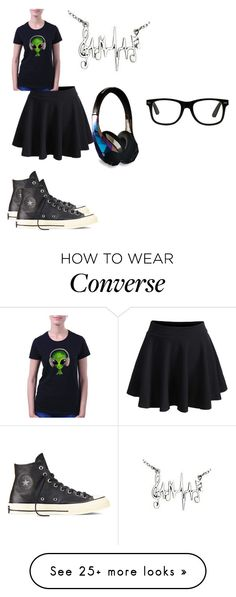 """""""Untitled #549"""" by mimi-minecrafter on Polyvore featuring Converse"""