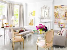 House Beautiful: Pretty in PINK! | ZsaZsa Bellagio - Like No Other