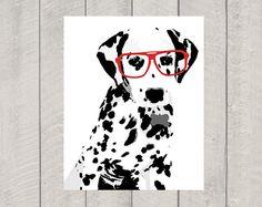 Dalmatian Art Print - Modern Dog Art