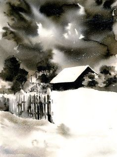 I paint all kinds of subjects: architecture, nature, landscapes, portraits, still natures. All my works are for sale. If you have a specific request I can paint it for you. Watercolor Projects, Watercolor Landscape Paintings, Landscape Drawings, Watercolor Techniques, Watercolor And Ink, Watercolour Painting, Painting & Drawing, Watercolors, Landscapes