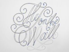 Fly on the Wall - vector drawing by Rob Clarke