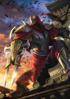 Zed League of Legends by yinyuming.deviantart.com on @deviantART