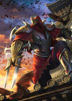 Zed League of Legends by yinyuming.deviantart.com on @deviantART
