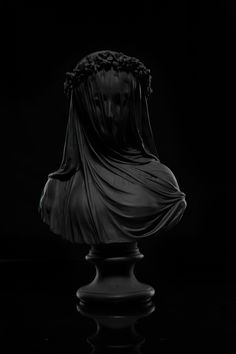 MOURNING VEIL STATUE available exclusively at The Black Atlas