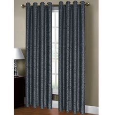 Found it at Wayfair - Mirabel Jacquard Extra Wide Grommet Single Curtain Panel