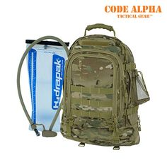 Mercury Luggage 3-Day Expandable Tac Pak W/ 100 oz Reservoir, TAA - Multicam