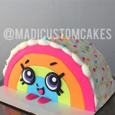 Shopkins Cake. Rainbow Bite. By Madison Hensley @madicustomcakes