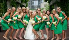 Emerald bridesmaid dresses |http://bit.ly/YSDxmD