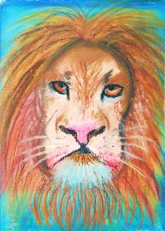 Pastel lion Xanthia 11yrs
