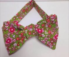 A personal favorite from my Etsy shop https://www.etsy.com/listing/235624125/spring-floral-mens-self-tie-bowtie