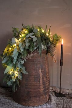 Outdoor Christmas, Christmas Home, Vintage Christmas, Christmas Crafts, Xmas, Christmas Door Wreaths, Christmas Decorations, Holiday Decor, My New Room