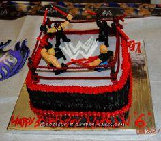 Nathan's WWE Wrestling Ring Cake... Coolest Birthday Cake Ideas