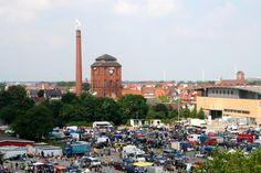 #Reisebloggertreffen #Norddeutschland in #Bremen - auf Tour durch die #Hansestadt #bremenerleben - Blick von der Dachterrasse im #prizeotel