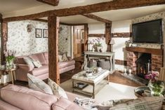 Pollyanna | Luxury Self-Catering Cottage | Birlingham, Cotswolds Unique Cottages, Luxury Couple, Southern Cottage, Spa Rooms, Self Catering Cottages, Beach Shack, Amazing Spaces, Room Inspiration, Building A House