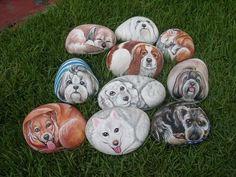 piedras pintadas 11 Piedras pintadas