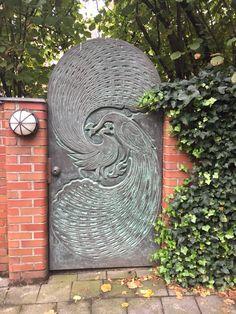 Beautiful garden door found in Münster