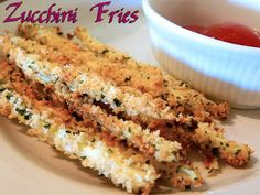 Eating Bariatric: Zucchini Fries