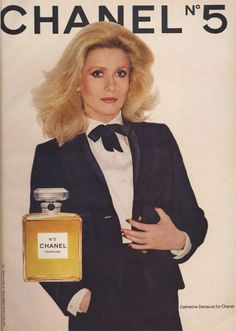 Catherine Deneuve X CHANEL N5
