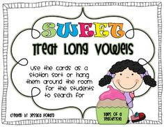 4 stations focused on short vowels, long vowels, blends, and digraphs. Great review for the end of the year!