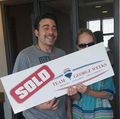 Congratulations to Jason S. on his first home with #TeamGeorgeWeeks! #hidingagent #closed