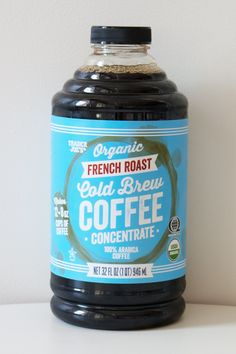 Pick Up: Organic French Roast Cold Brew Coffee ($10)