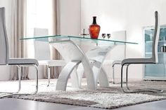 Stunning Glass Table For Dining Room Pictures - Room Design Ideas ...