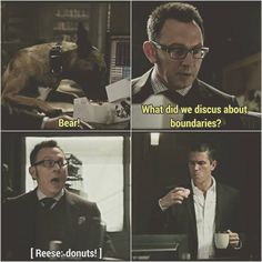 Haha! Person of Interest