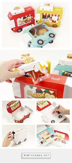 Lunch Truck on Behance by Ann Lu curated by Packaging Diva PD is such cute #packaging : ) Perfect recipe to entertain kids PD