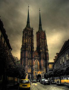 Cathedral Island in Wroclaw.