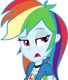 rainbow dash equestria girls - Google Search