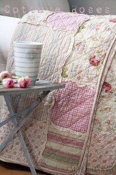 Quilt beautiful. Cottage Rose.