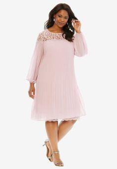 d27d62fd770 Chiffon and Lace Dress