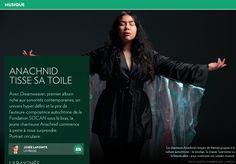Anachnid tisse sa toile - La Presse+ Indie Pop, Jouer Du Piano, Album, Movies, Movie Posters, Composers, Singer, Beginning Sounds, Fabrics
