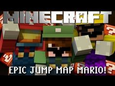 Minecraft: Epic Jump Map Mario Edition! Part 1