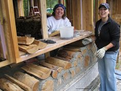 Best Practices with Cordwood Construction | Cordwood Construction
