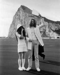 Yoko, John & Superga