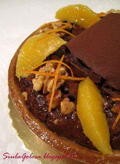 Crostata brownies di Luca Montersino Real Food Recipes, Cake Recipes, Brownie Bar, Andiamo, Italian Recipes, Tart, Food Porn, Sweets, Beef