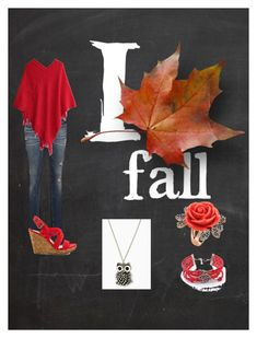"""Fall Oufit"" by nerdyredd ❤ liked on Polyvore featuring Jessica Simpson"