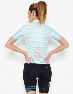 Women s Candy Stripe Jersey - Jaggad. Cycling Clothes f3d1445d4