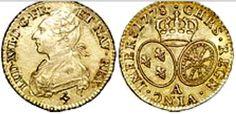 Monedas de la época  de Luis XVI