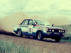ra Nissan Violet Rally Car 1978-1982
