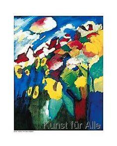 Wassily Kandinsky - Murnau-Garden II