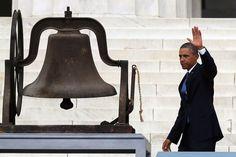 Barack Obama - Washington, DC Marks 50 Years Since MLK's 'Dream' Speach