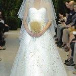 Conoce la nueva colección de vestidos de novia primavera-verano 2014 de Carolina Herrera
