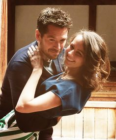 """Amy Acker and Alexis Denisof, my favorite couple from """"Angel""""..."""