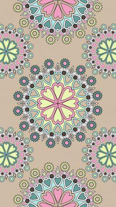 Graphic Wallpaper, More Wallpaper, Pastel Wallpaper, Cute Wallpaper Backgrounds, Cute Wallpapers, Vintage Flowers Wallpaper, Flower Wallpaper, Cellphone Wallpaper, Iphone Wallpaper