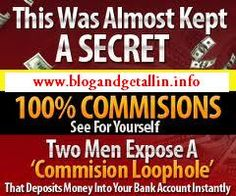 The Secret's Out!!  Discover this little known secret that 2, van driving, bean eating bums used to help themselves get off the streets and onto the beach as well as helping others to quit their dead-end job to fulfill their dreams.  http://www.blogandgetallin.info